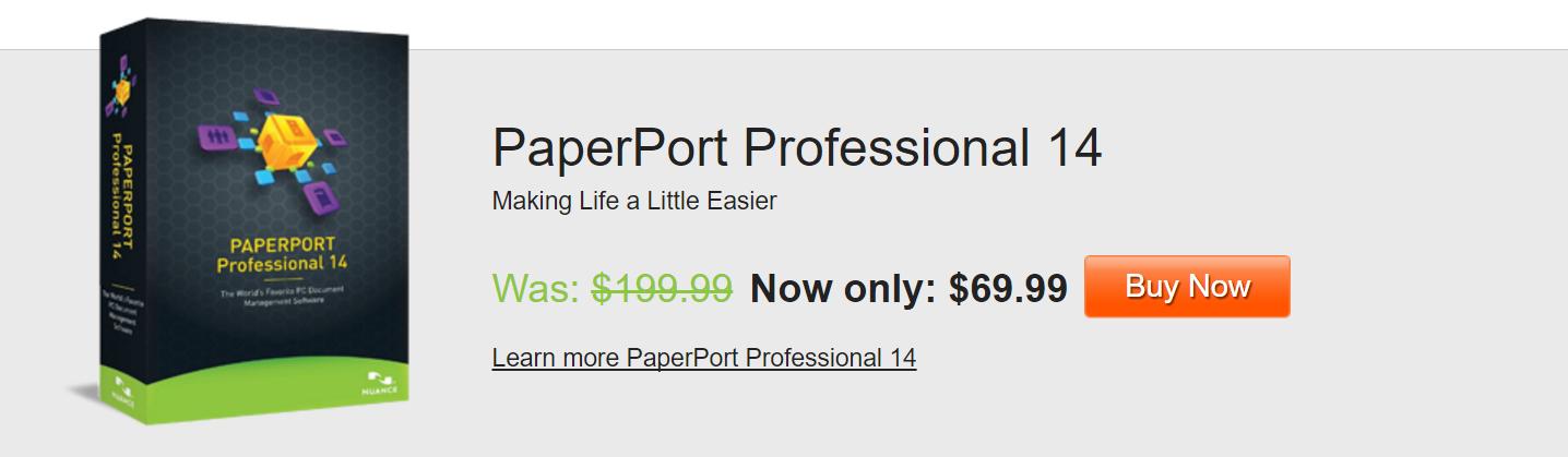 Paperport 69.99