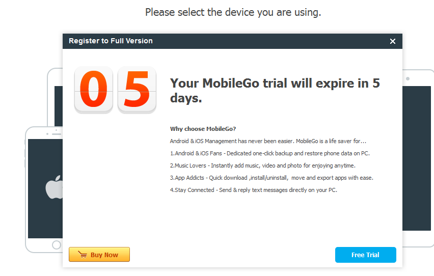 download wondershare mobilego
