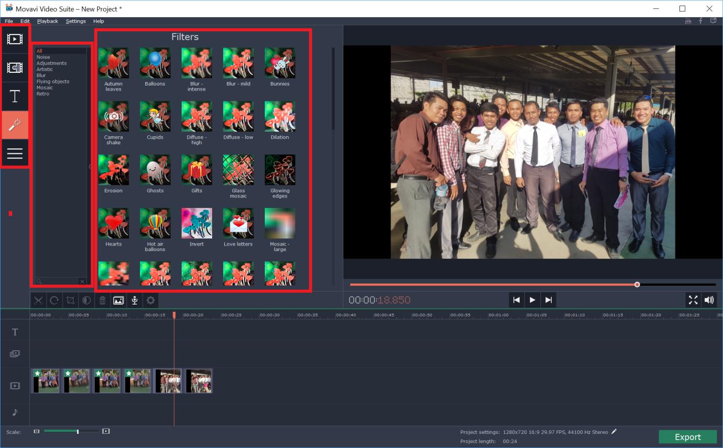Movavi Video Editor Coupon