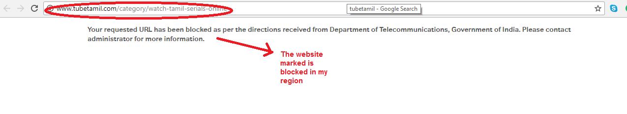 VyprVPN websiteblocked
