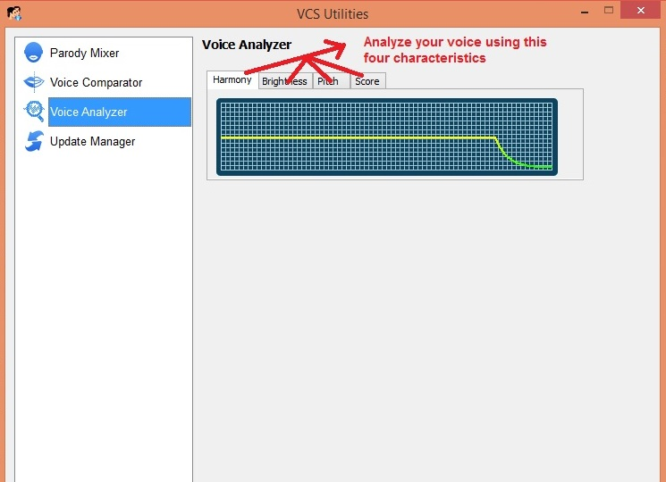AV Voice changer voiceanalyzer