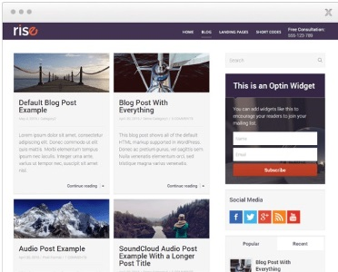 WordPress Themes  Thrive Themes Colors Rating