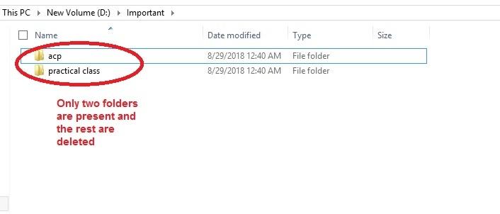Aomei Backupper Restore files deleted