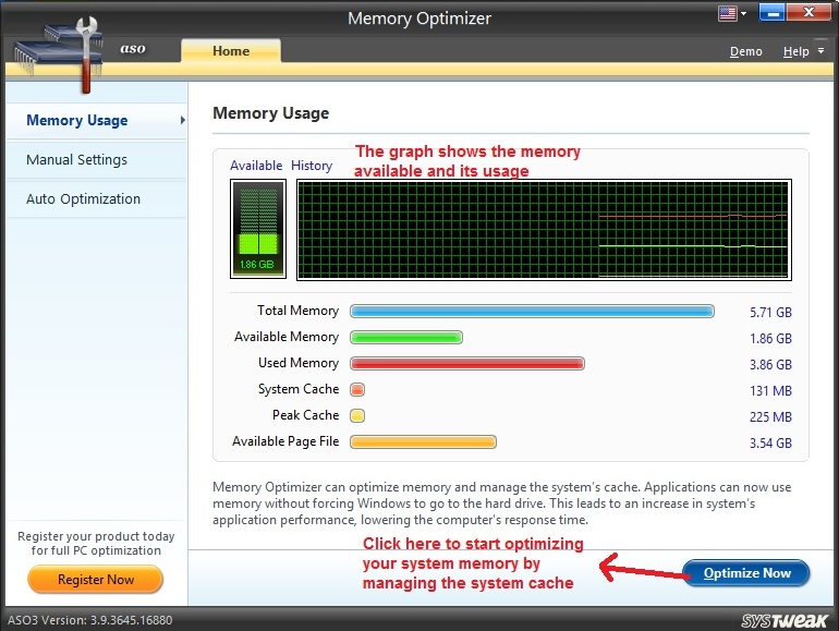 Advanced System Optimizer Memory Optimizer