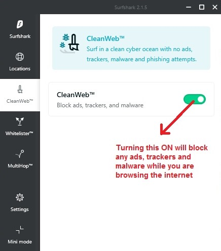 Blocks ads and malwares