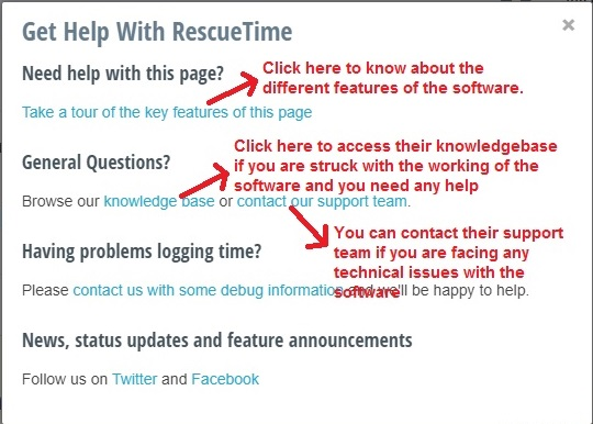 RescueTime help