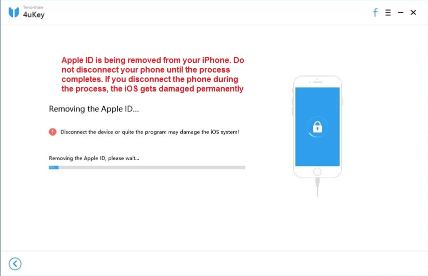 Apple ID getting removed
