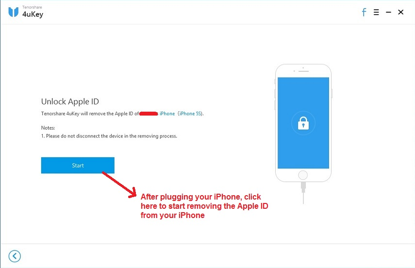 Tenorshare 4uKey unlock apple id